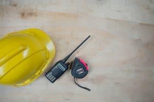 כלים של עובד בניין